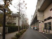 小田急線沿い