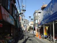 祖師ヶ谷大蔵駅南側