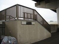 隅田川テラス入口